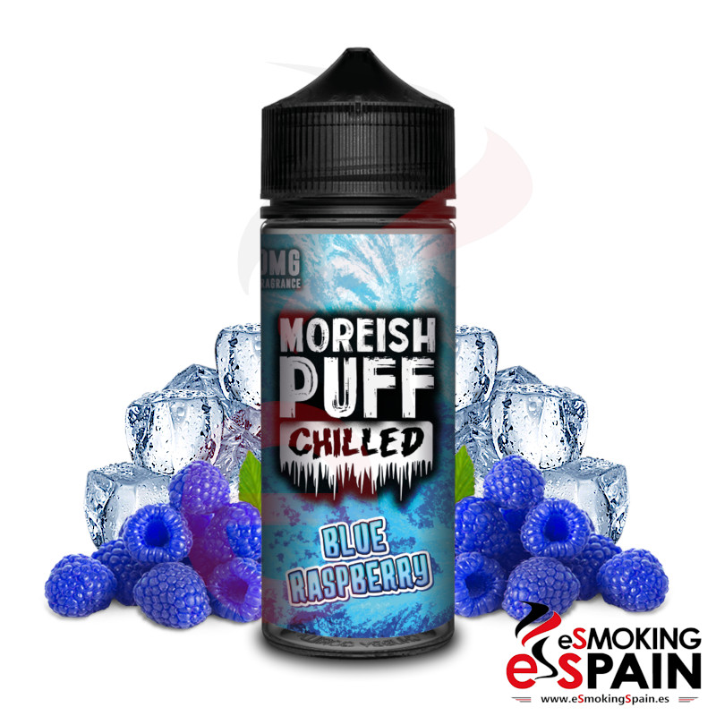 Moreish Puff Chilled Blue Raspberry 100ml 0mg