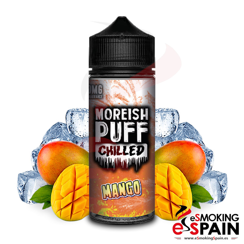 Moreish Puff Chilled Mango 100ml 0mg