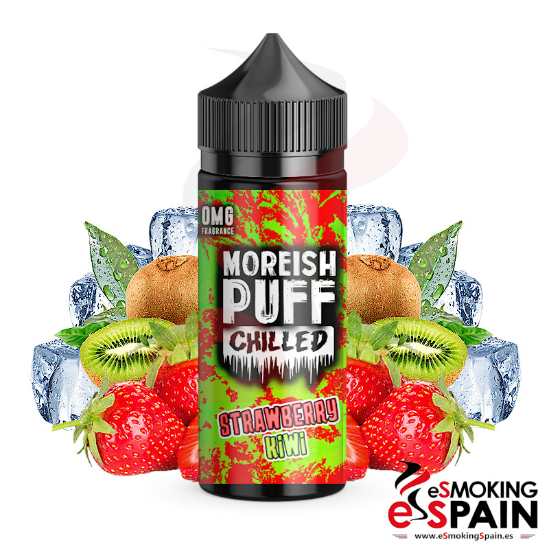 Moreish Puff Chilled Strawberry Kiwi 100ml 0mg