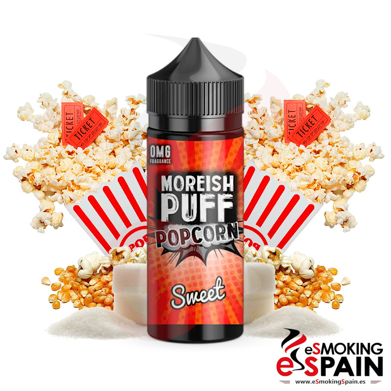 Moreish Puff Popcorn Sweet 100ml 0mg