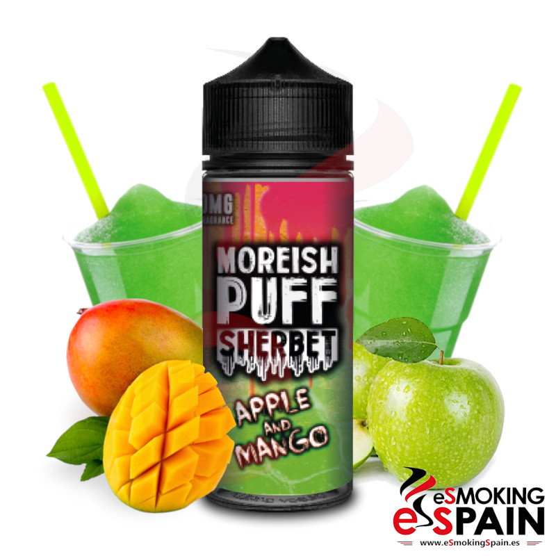 Moreish Puff Sherbet Apple Mango 100ml 0mg