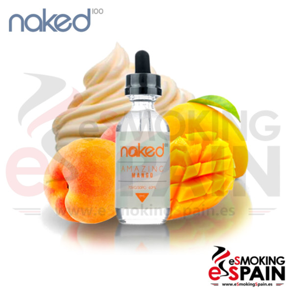 Liquido Naked 100 Amazing Mango 50ml 0mg