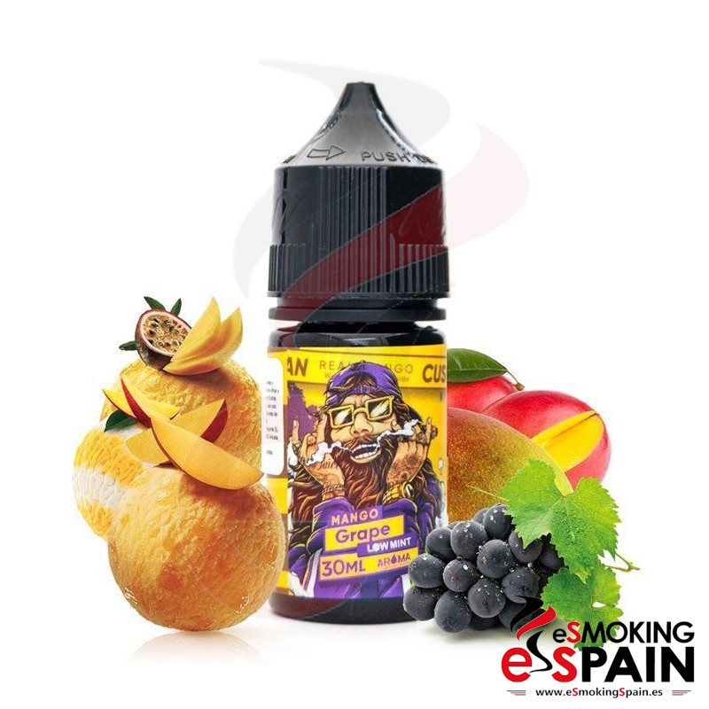 Aroma Nasty Juice Cush Man Mango Grape 30ml