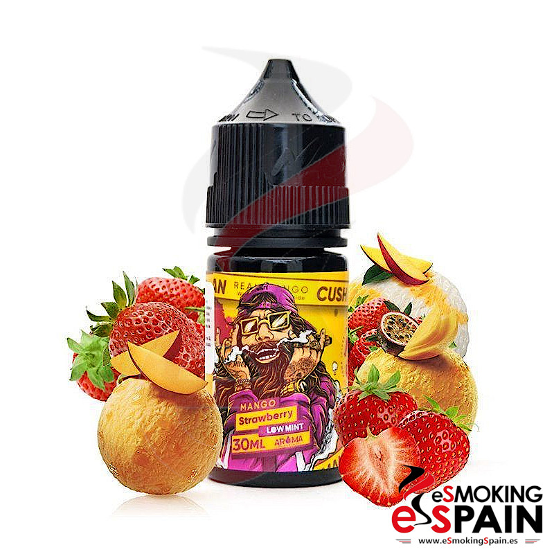 Aroma Nasty Juice Cush Man Mango Strawberry 30ml