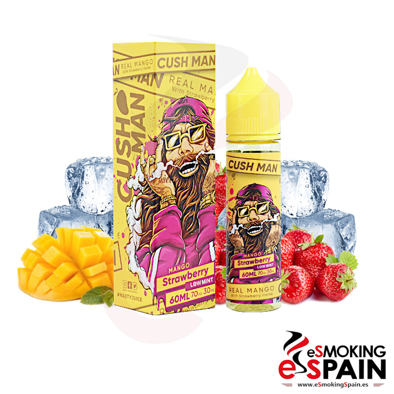 Nasty Juice Cush Man Mango Strawberry 50ml 0mg