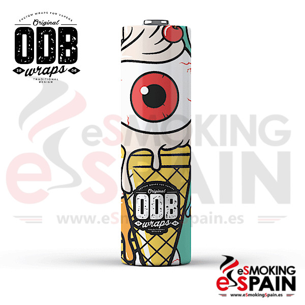 4x Wrap ODB 18650 Eye Scream
