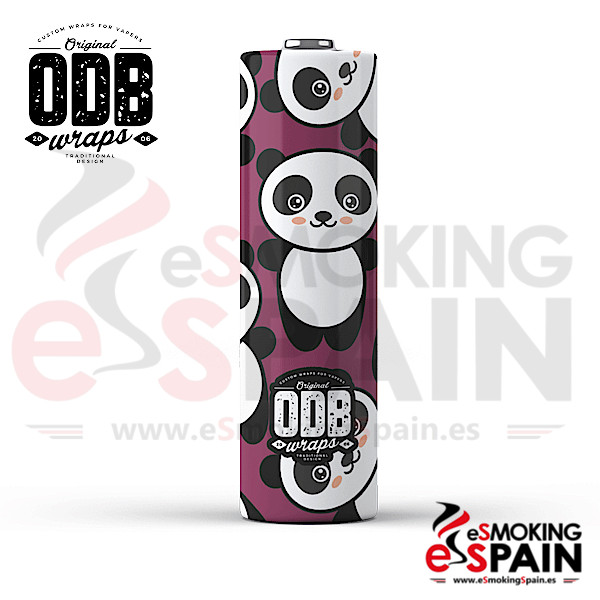 4x Wrap ODB 18650 Kawaii