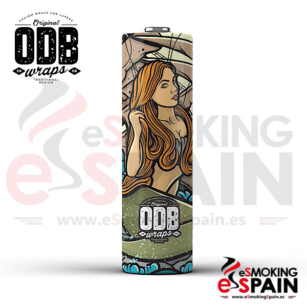 4x Wrap ODB 18650 Mermaid