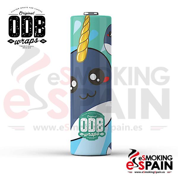 4x Wrap ODB 18650 Narwhol