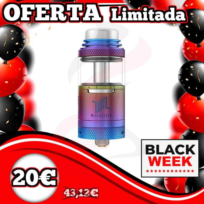 Vandy Vape Widowmaker RTA 2ml TPD Rainbow