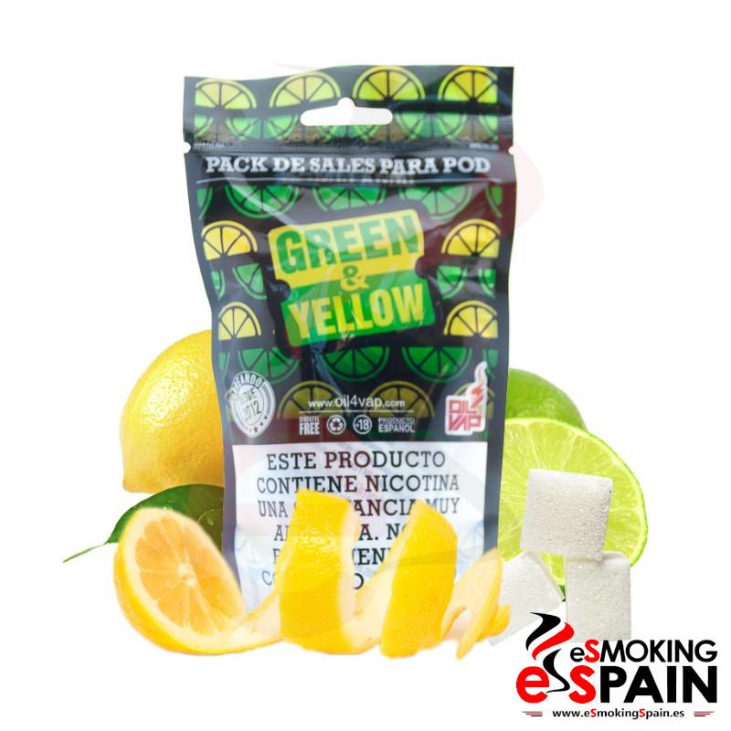 Oil4Vap Pack De Sales Green & Yellow