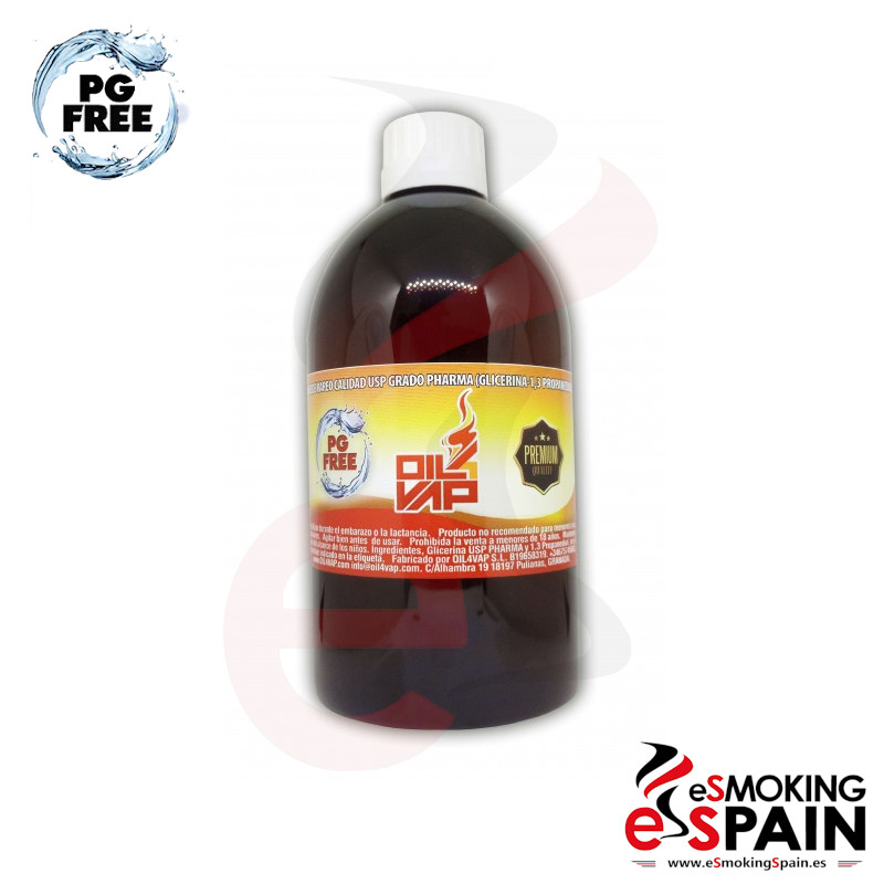 Base 500ml Oil4Vap Propanediol 100% Vegetal 0mg