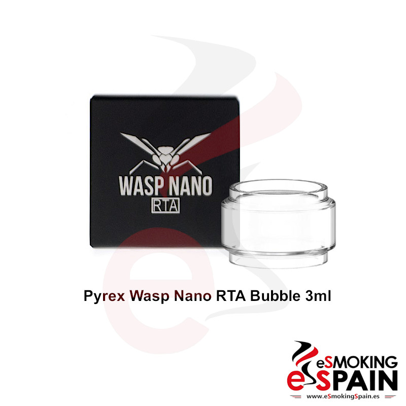 Pyrex Oumier Wasp Nano RTA Bubble Glass 3ml