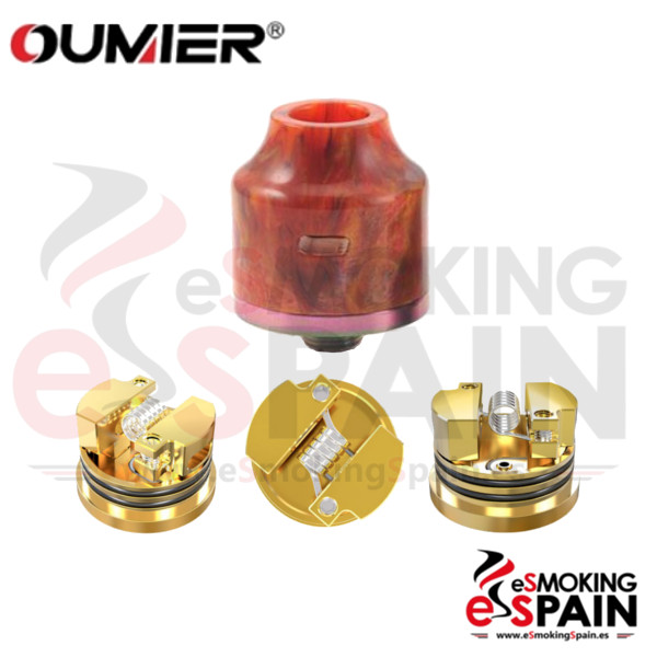 Oumier Wasp Nano RDA resin Red