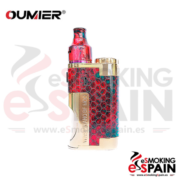 Oumnier Wasp Nano BF Squonk Kit Red