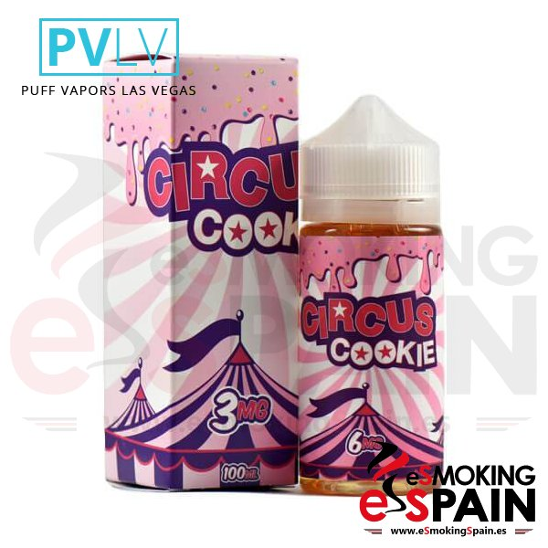 e-liquid PVLV Circus Cookie 100ml