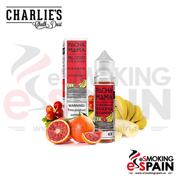 Pacha Mama Blood Orange Banana Goosberry 50ml 0mg