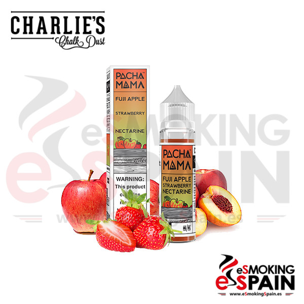 Pacha Mama Fuji Apple Strawberry Nectarine 50ml 0mg