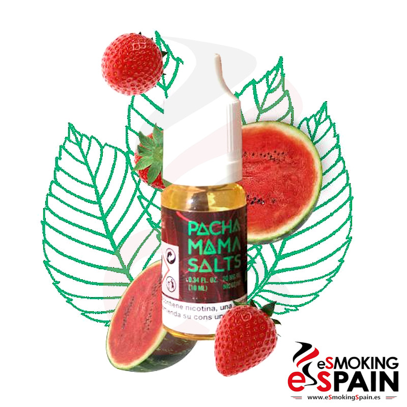 PachaMama Salts Strawberry Watermelon 10ml 20mg