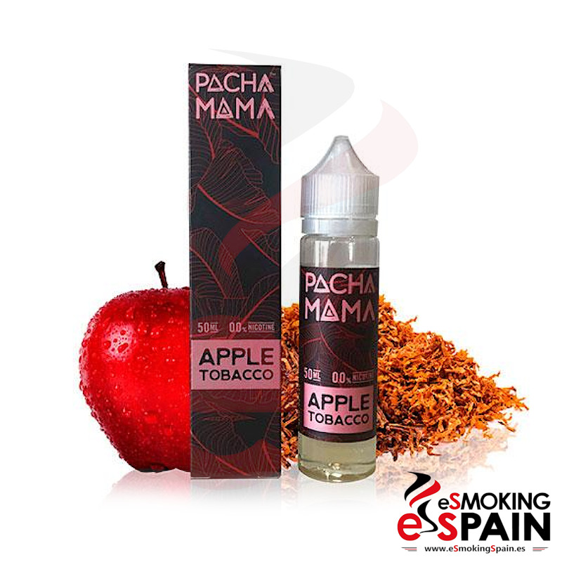 Pachamama SubOhm Apple Tobacco 50ml 0mg