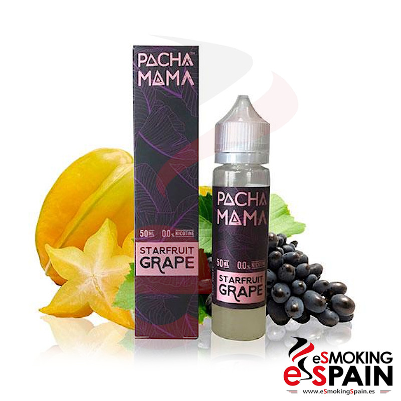 Pachamama SubOhm Starfruit Grape 50ml 0mg