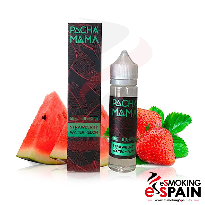 Pachamama SubOhm Strawberry Watermelon 50ml 0mg