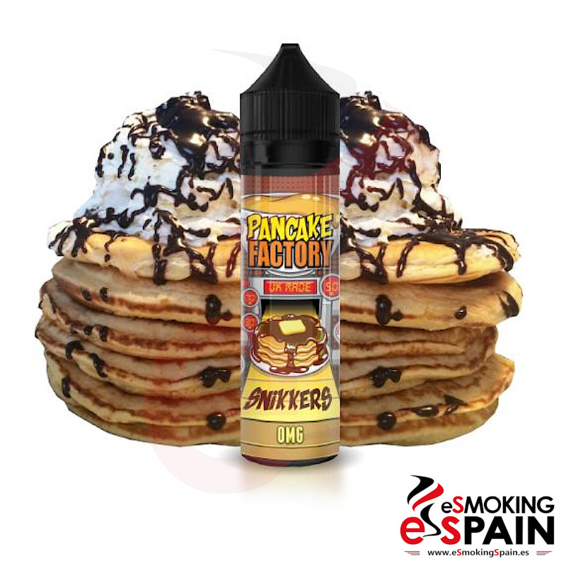 PanCake Factory Snikkers 50ml 0mg