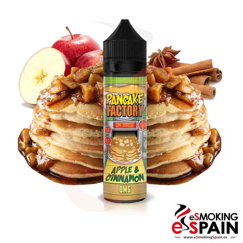 PanCake Factory Apple & Cinnamon 50ml 0mg