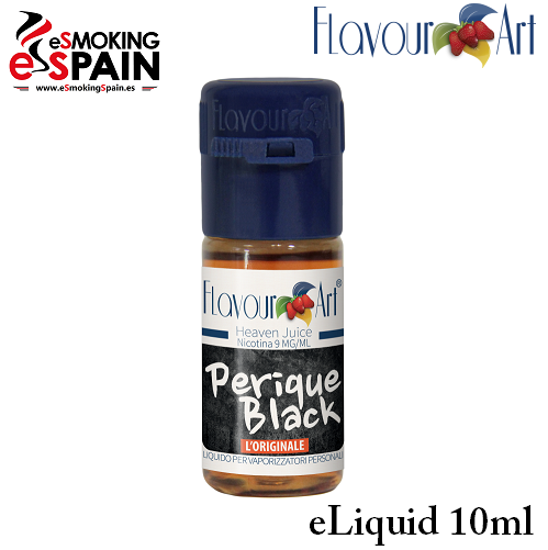 Eliquid FlavourArt PERIQUE BLACK 10ml (nºL35)