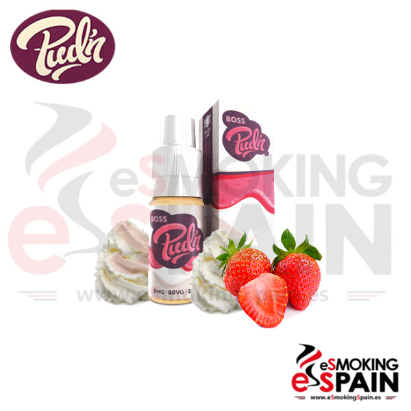 Liquido Pud'n Boss (Strawberry Pavalova) 10ml