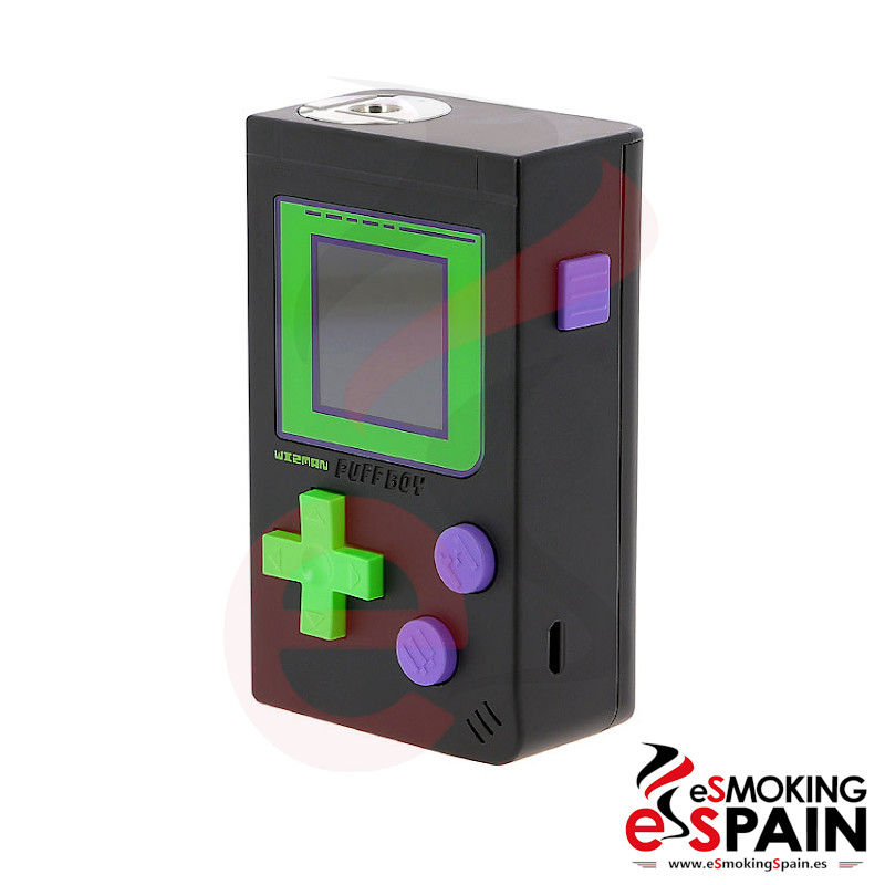Wizman Puff Boy 200W Box Mod Black