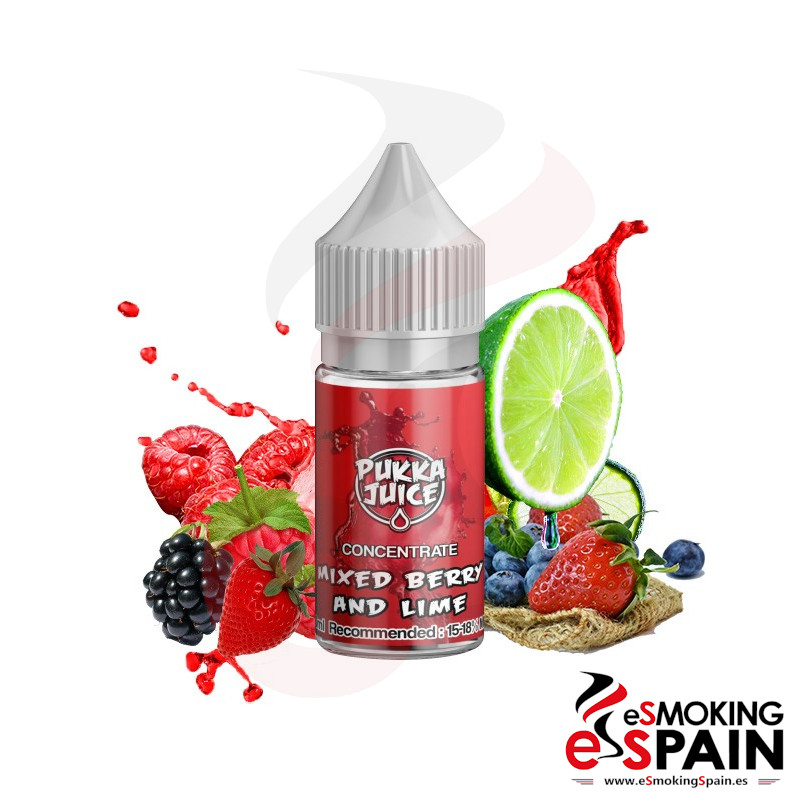 Aroma Pukka Juice Mixed Berry And Lime 30ml