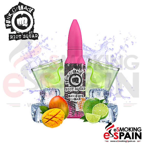 Punk Grenade By Riot Squad Mango Lime Grenade 50ml 0mg
