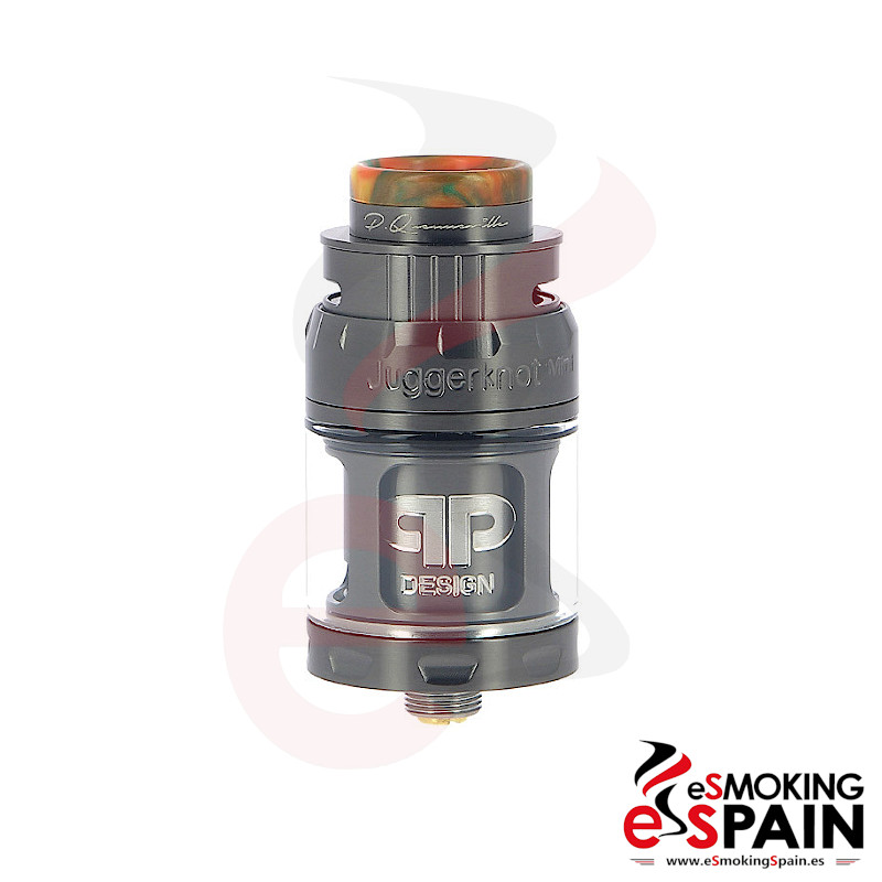 QP Design Juggernaut Mini RTA TPD 2ml Gunmetal