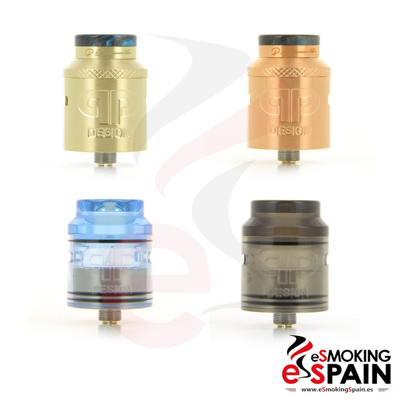 QP Design Kali V2 RDA Brass Copper Kit