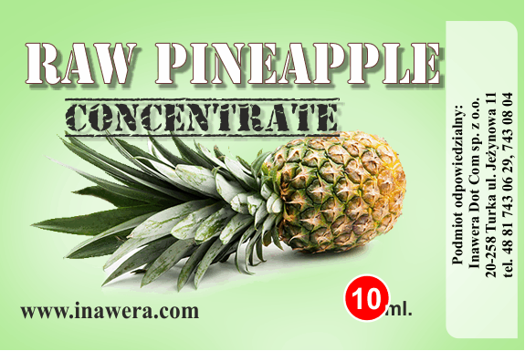Inawera concentrado Raw Pineapple 10ml (nº52)