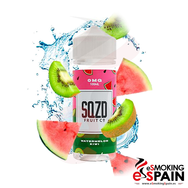 SQZD Fruit Co Watermelon Kiwi 100ml 0mg
