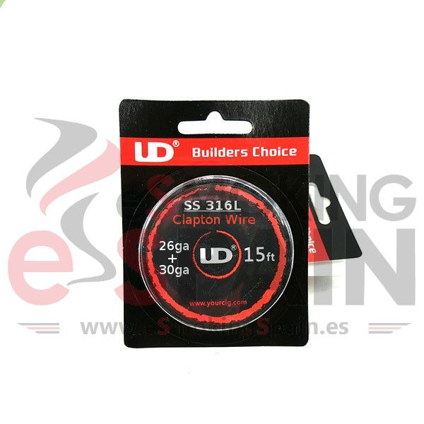 Youde Clapton Wire SS316L 26ga+30ga / 5m