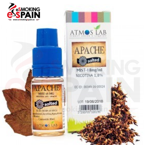 Sales de Nicotina Atmos Lab Apache Salted 18mg 10ml