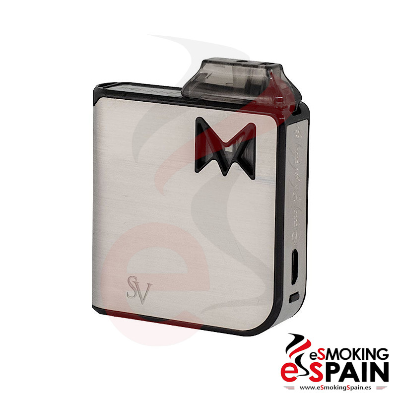 Smoking Vapor Mi Pod Metal Silver