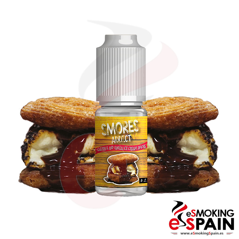 Aroma Smores Addict Churros and Vanilla Ice Cream 10ml