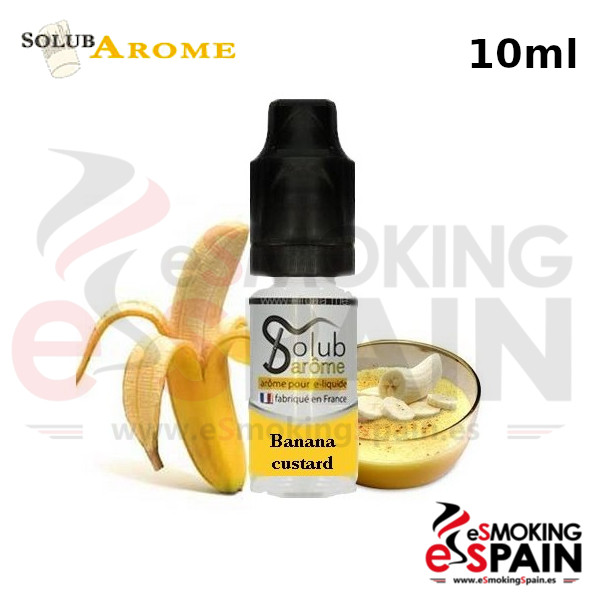 Aroma SolubArome 10ml Banana Custard (028)