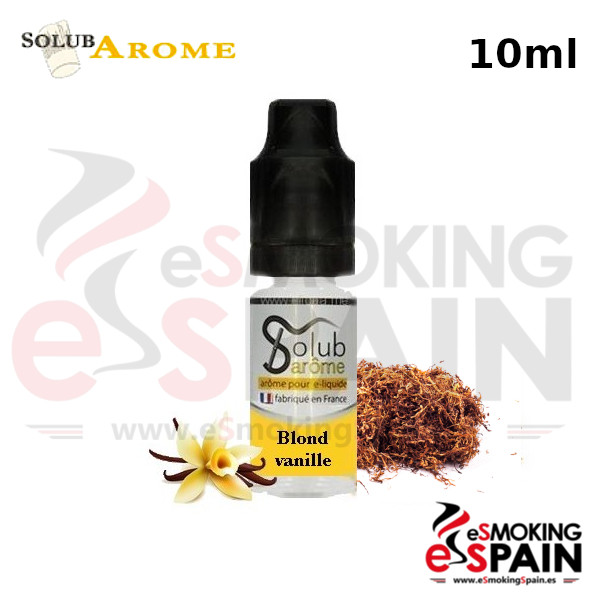 Aroma SolubArome 10ml Tabac Blond Vanille (055)