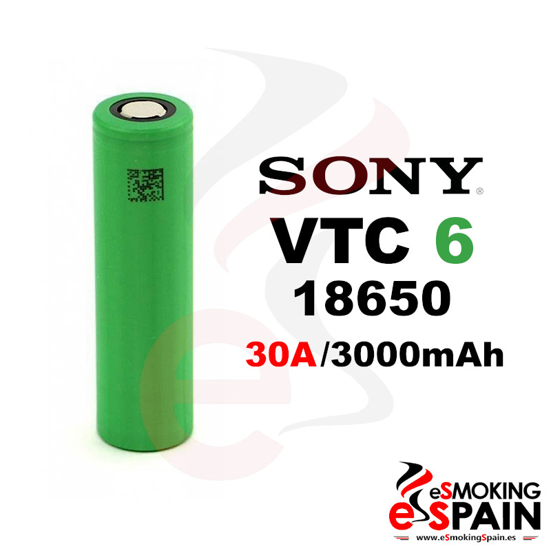 Bateria Sony Konion VTC6 US 18650 3000mAh 30A