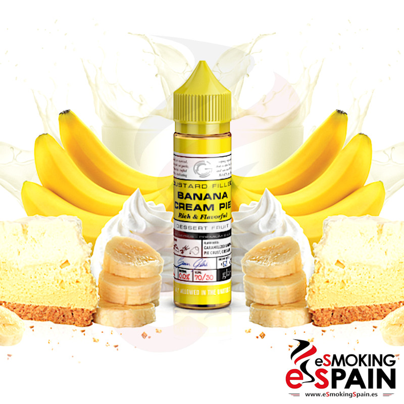 Soon Glas Banana Cream Pie 50ml 0mg