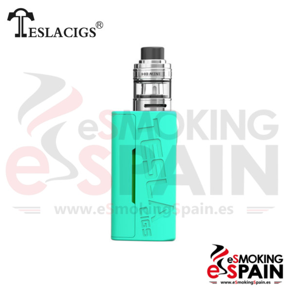 Tesla Wye 85W TC Kit Blue + H8 Mini Tank
