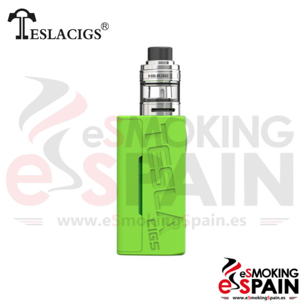 Tesla Wye 85W TC Kit Green + H8 Mini Tank