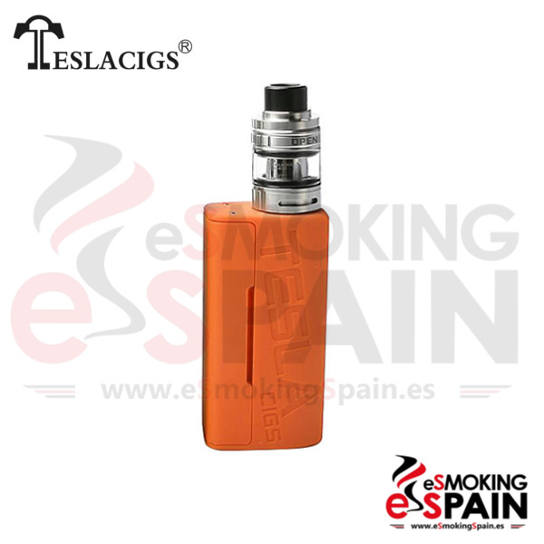 Tesla Wye 85W TC Kit Orange + H8 Mini Tank