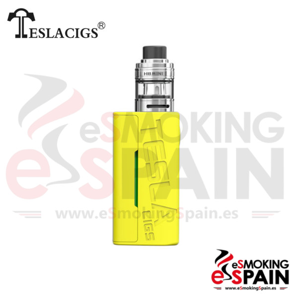 Tesla Wye 85W TC Kit Yellow + H8 Mini Tank