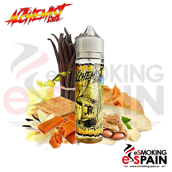 The Alchemist Juice Monkey Island 50ml 0mg